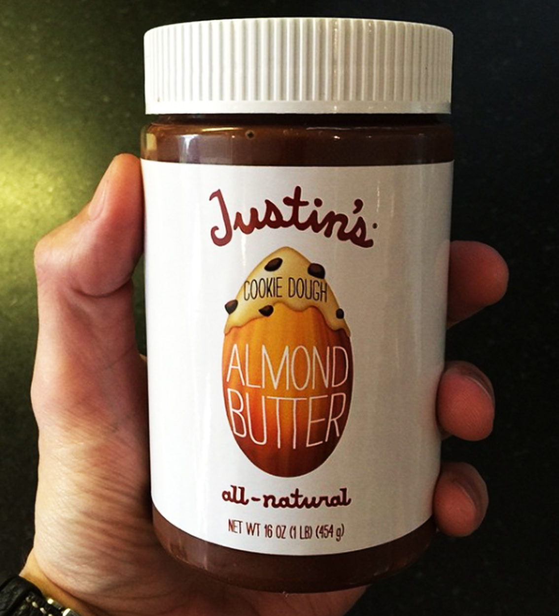 Cookie Dough Almond<br>Butter for John Mayer